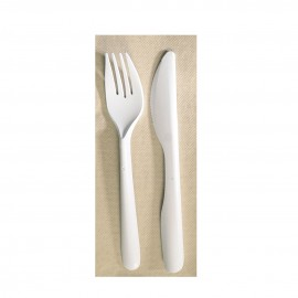 Cuchillo blanco resistente PS