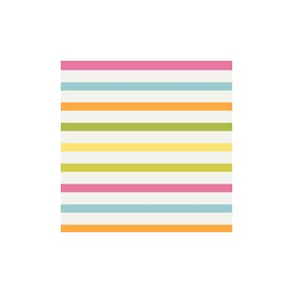 Servilleta tissue 33x33 design Lina Stripes