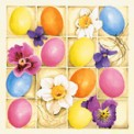 Servilleta tissue 33x33 design Easter Bouque