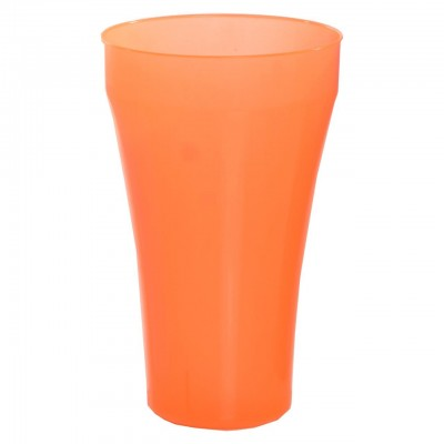 Vaso New Big flexible 840 cc PP Naranja