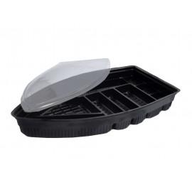 Bandeja Barco Negra Box 1 PET